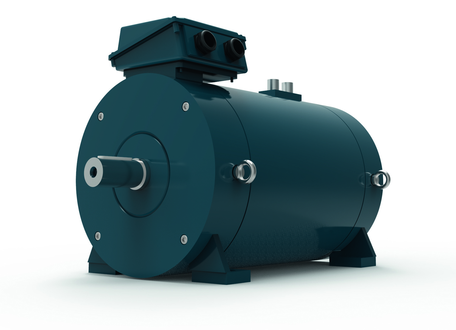 Many applications for the new k1w water cooled motor for Liquid cooled ac motor