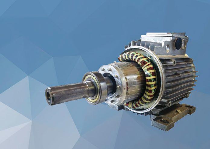 Conventional asynchronous motor (credits: Prof. Chiricozzi)