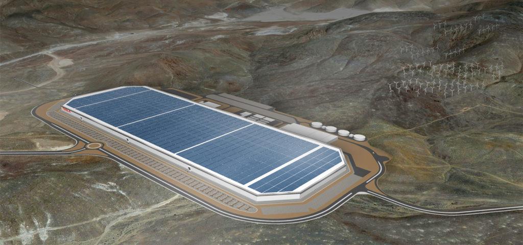 Tesla Gigafactory in Buffalo, New York State