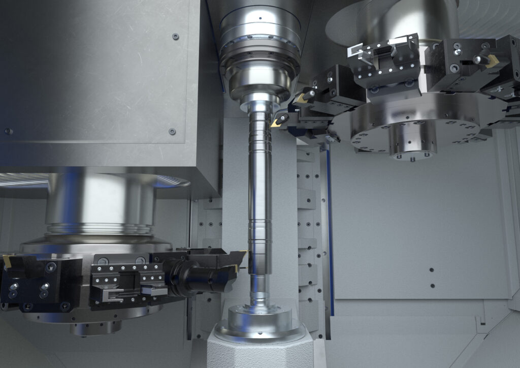 OP 60 - Fine turning and drilling operations with driven tools on a VTC 200